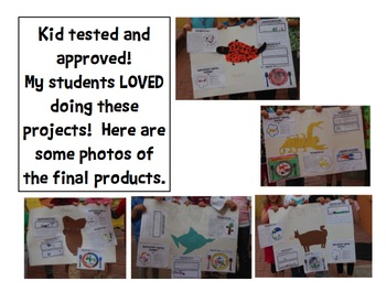 Group Animal Report - Shared Research - Kindergarten, 1st, 2nd Common Core