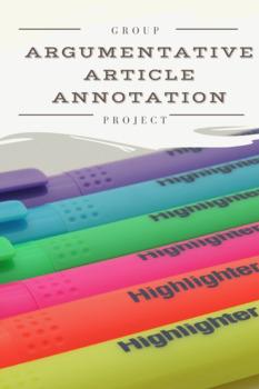 Group Argumentative Article Project