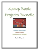 Group Book Projects Bundle with Scoring Rubrics
