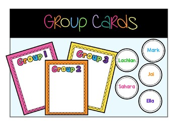 Group Cards