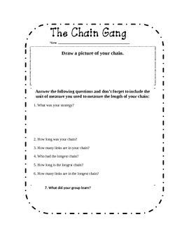 Group Chain Challenge