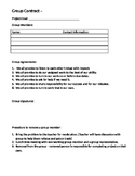 Group Contract & Decision Matrix