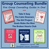 Group Counseling Bundle: Five Group Counseling Guides in One!