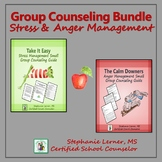 Group Counseling Bundle: Stress & Anger Management