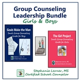Group Counseling Leadership Bundle for Girls & Boys