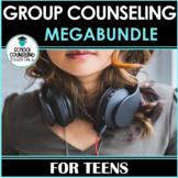 School Counseling Groups MEGABUNDLE (7 groups + workbook)-