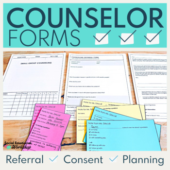 Group Counseling Editable Templates