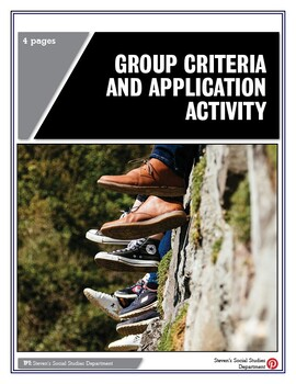 Group Criteria and Application Activity