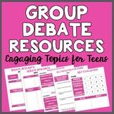 Group Debate Resources (7 Relevant Debate Topics for Teens)