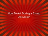 Group Discussion Basics Defined