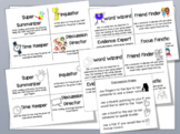 Group Discussion Role Cards and Rules (EDITABLE)