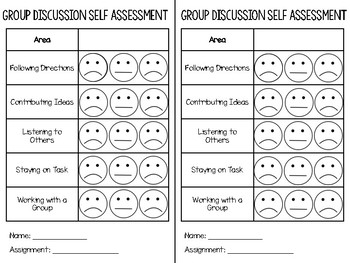 Group Discussion Rubric
