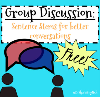 Group Discussion Sentence Starters