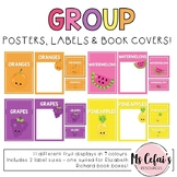 Group Display Posters and Labels - Fruit