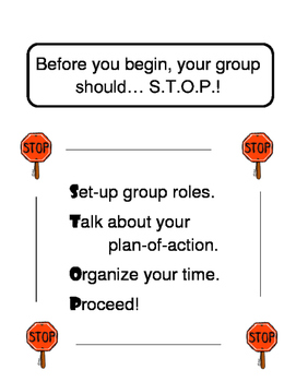 Leadership:  S.T.O.P. Before You Start