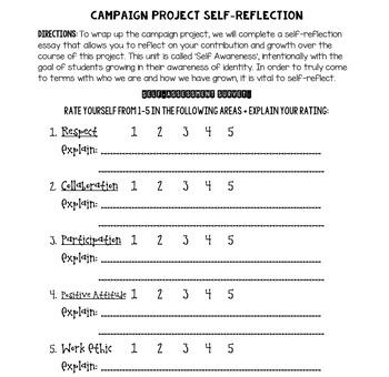 Group Election/Campaign Project- Whole Unit