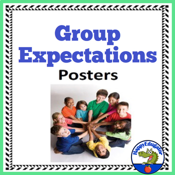 Group Expectations - Back to School Rules Posters