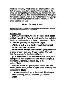 Group Grocery Project