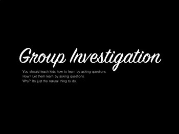 Group Investigation 2