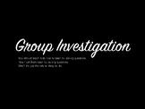 Group Investigation 2