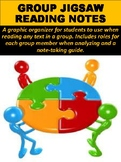 Group Jigsaw Reading Notes