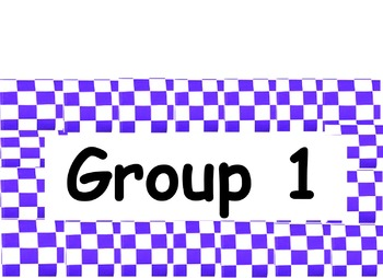 Group Labels