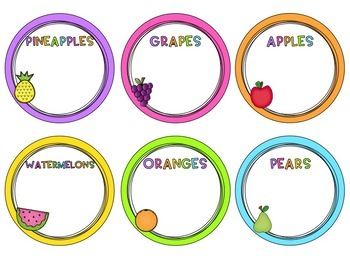 Group Labels - Circle