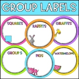 Group Labels - Circle