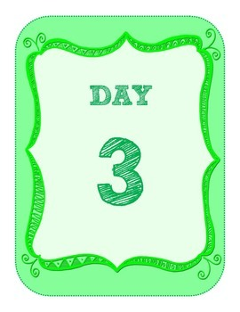 FREE: Group Labels, Day Labels for Groupwork, Day Cycles