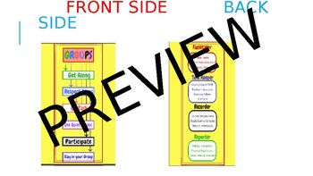 Group Learning Team Talk (Bookmark and Desk Poster)