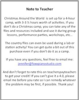 Group Made Fun- Christmas Around the World