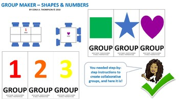Group Maker - Shapes & Numbers
