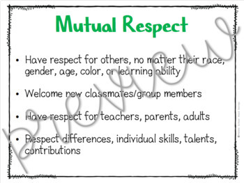 Group Norms Mini-Posters & Prompts