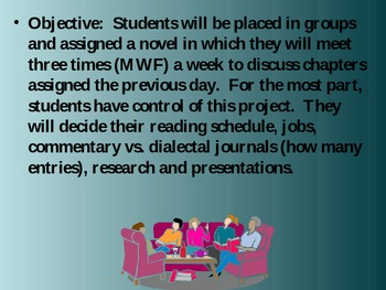 Group Novel Study (GNS) PPT