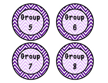Group Number 1 - 8 Rounds