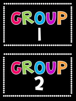 Group Numbers