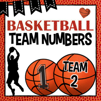 Group Numbers ~ Basketball/Sports