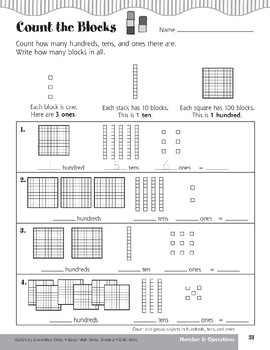 Group Objects in Hundreds, Tens, and Ones