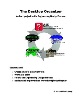 Group Organizer - Engineering Design Process Group Project