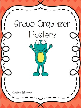 Group Organizer Posters