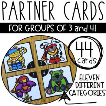 Group Partner Cards