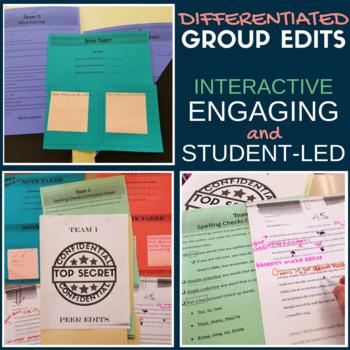 Group Peer Edits