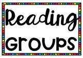 Group Poster Titles