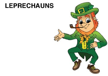 Group Posters - Group 3 - Leprechauns