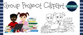 Group Project Clipart {FREEBIE!}
