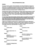 Group Project-Crime and Punishment--Common Core Aligned