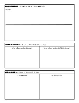 Group Project Planner