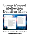 Group Project Reflection Questions Menu