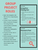Group Project Roles and Responsibilities for Student Leadership