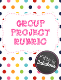 Group Project Rubric
